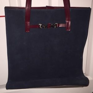 Rebecca Minkoff suede and leather tote brand new!